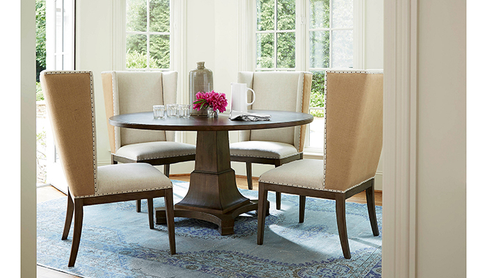 Bộ bàn ăn 4 ghế bọc vải
