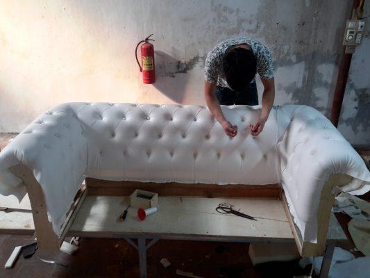 Đóng ghế sofa theo yêu cầu