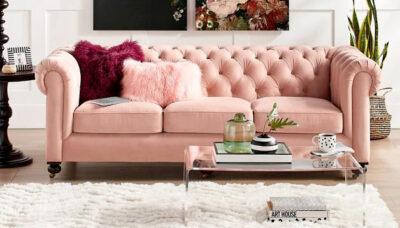 Sofa-văng-nhung-hồng-phấn