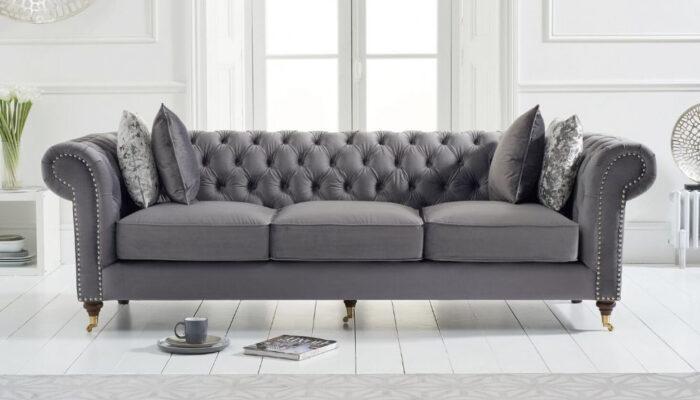 Sofa-văng-nhung-xám-rút-trám